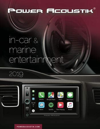2019 PowerAcoustik Catalog